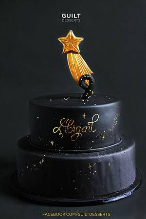 Upon A Star - Cake by Guilt Desserts