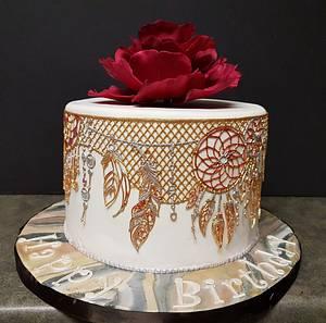 Dreamcatcher Cake - Cake by Lori Snow