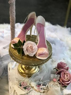 Dulces Zapatos  - Cake by Griselda de Pedro