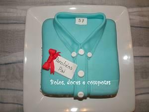 Dad's shirt - Cake by bolosdocesecompotas