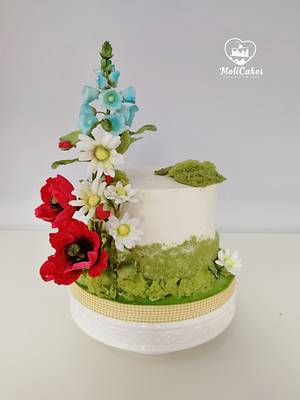 meadow... - Cake by MOLI Cakes