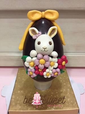Uovo decorato - Cake by BeSweet