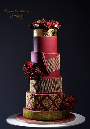Wedding Dress Cake - Cake by Shimna Zaeer Abbas