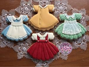 Vintage Girl's Dresses - Cake by La Shay by Ferda Ozcan
