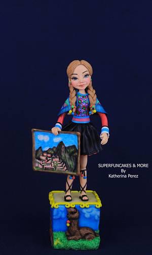 Macchu Picchu - Cuzco - Peru - WOW Challenge - Cake by Super Fun Cakes & More (Katherina Perez)