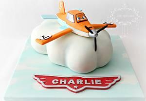 Dusty Crophopper ~ Planes Cake - Cake by Little Apple Cakes