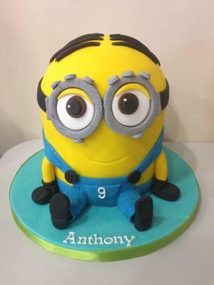 Minion Dave - Cake by Mimi's Sweet Treats