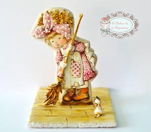 Galleta Sarah - Cake by El Atelier de la Repostería