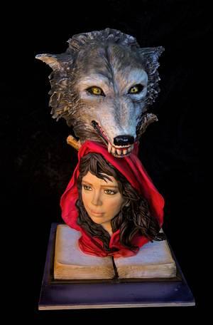 CAPERUCITA ROJA ( little Red Riding Hood) - Cake by teresagil