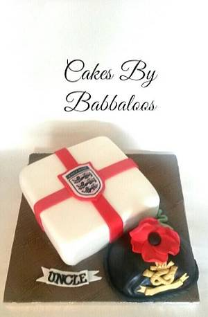 Proud to be british cake!  - Cake by Babbaloos Cakes