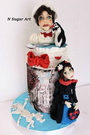 Mary Poppins Cpc Collaboration - Cake by N SUGAR ART
