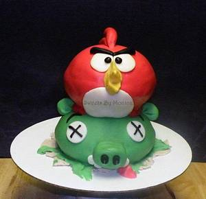 Angry Birds Attack! - Cake by Sweets By Monica