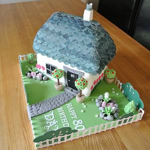 Country Cottage - Cake by baguio