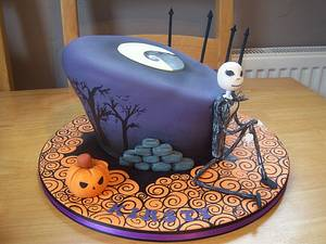 Nightmare before christmas - Cake by Gemma Coupland