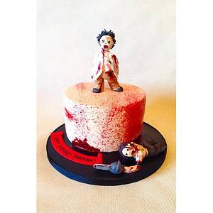 Zombie Themed Cake! - Cake by Beth Evans
