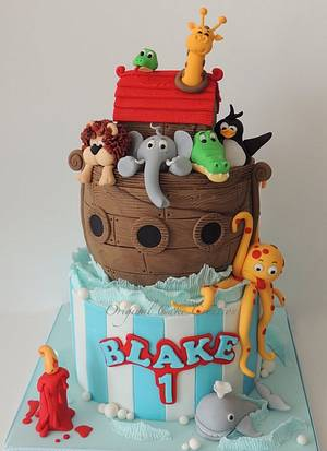 Noah's ark - Cake by Shereen