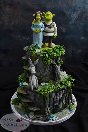 Shrek Cake - Cake by Nasa Mala Zavrzlama