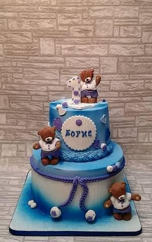 Teddy bears cake - Cake by Rositsa Lipovanska
