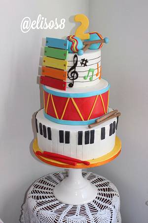 Music Time - Cake by Elisos