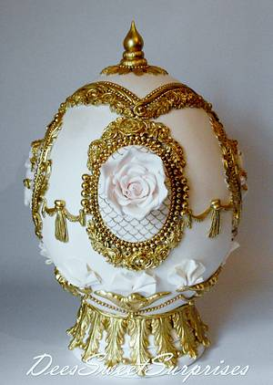 My Fabergé Sugar Egg - Cake by Dee