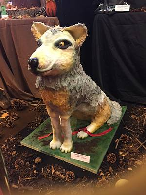 The Lone Wolf (life sized cake)  - Cake by Sarah Leftley (Sarah's cakes)