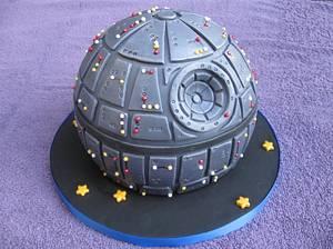 Star Wars Death Star - Cake by James V. McLean