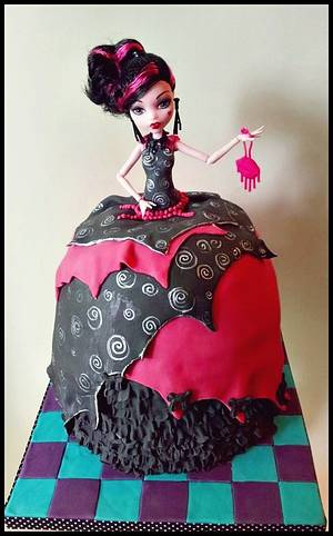 Draculaura  - Cake by Time for Tiffin
