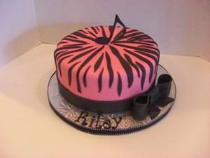 musical zebra - Cake by eperra1