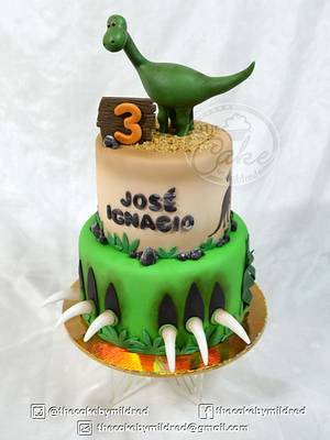 Dino cake - Cake by TheCake by Mildred