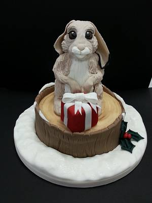 Hare! - Cake by Sugarwhizz