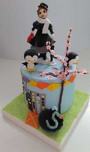 Mary Poppins cake - Cake by Clara