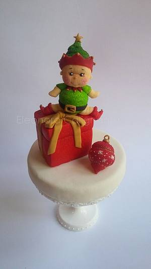 Marshmallow Elf - Cake by Eleonora Calignano