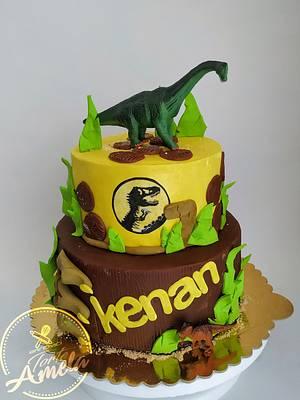 Juressic cake - Cake by Torte Amela