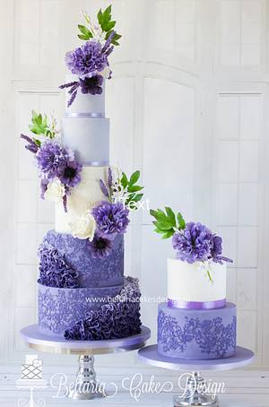 Lovely lilac - Cake by Bellaria Cake Design
