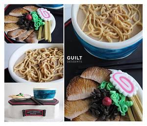 Santouka Ramen Cake - Cake by Guilt Desserts