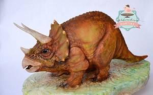 triceratops - Cake by pavlo