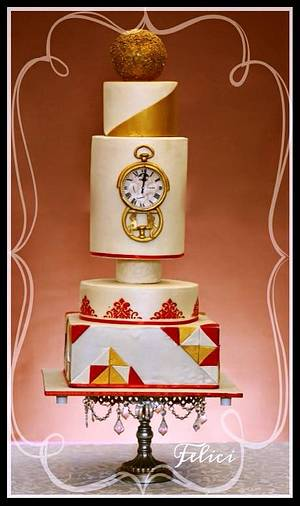 """""""Keep it simple, silly!"""" - Cake by Felici - Bake Craft by Ankna"""