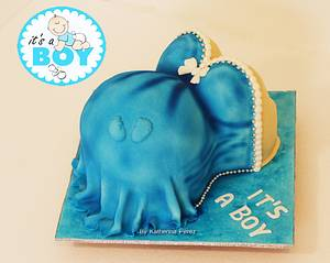 It's a boy cake - Cake by Super Fun Cakes & More (Katherina Perez)