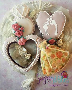 Wedding Set - Cake by Tina Tsourtsoulas