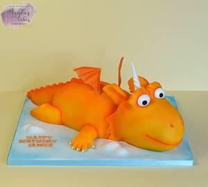 Zog - Cake by Magda's Cakes (Magda Pietkiewicz)