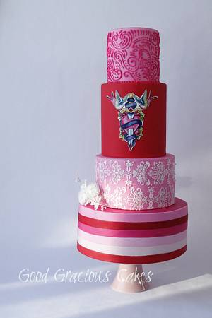 Be My Valentine! Collab piece - Cake by Michelle Boyd