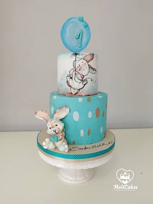 for little boy  - Cake by MOLI Cakes