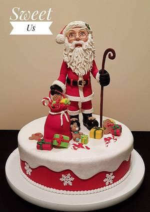 Santa - CPC Christmas Collaboration - Cake by Gabriela Doroghy
