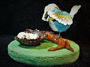 Empty nest - Cake by Sandy