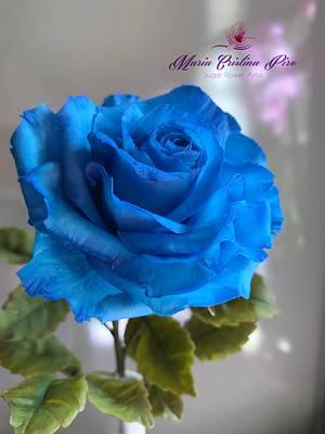 Blue rose... - Cake by Piro Maria Cristina
