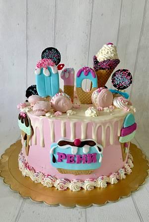 Ice cream cake - Cake by laskova
