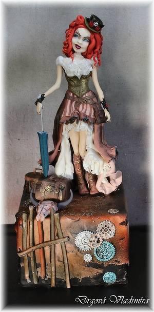 Steampunk cake - Cake by Vlaďka