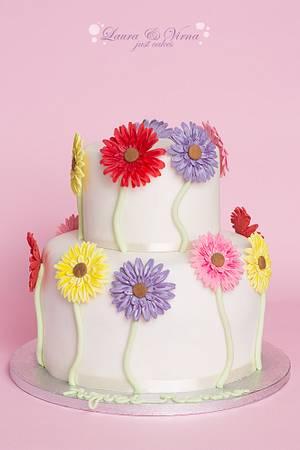 flower cake - Cake by Laura e Virna just cakes