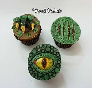 Dinosaur cupcakes - Cake by Sweet Prelude