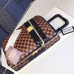 Louis Vuitton Suitcase - Cake by Bake Envy